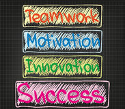 Teamwork Motivation Innovation Stock Photo