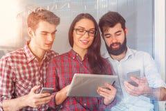 Teamwork and network concept Stock Photos