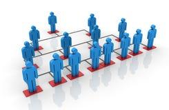 Teamwork - Network Stock Image