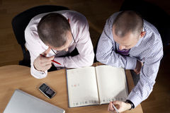 Teamwork in the office Royalty Free Stock Photos