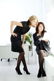 Teamwork in the office Royalty Free Stock Photography