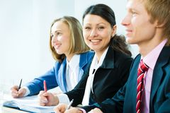 Teamwork in the office Royalty Free Stock Image