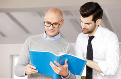 Teamwork at office Royalty Free Stock Photography