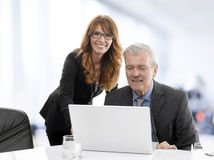 Teamwork in office Royalty Free Stock Image