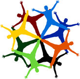 Teamwork people Royalty Free Stock Images