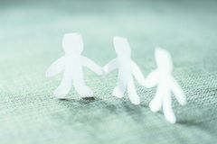 Teamwork People Chain Royalty Free Stock Photography