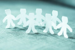 Teamwork People Chain Royalty Free Stock Image