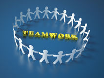 Teamwork People Royalty Free Stock Photos
