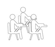 Teamwork people. Design, vector illustration eps10 graphic Stock Photos