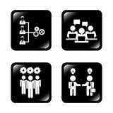 Teamwork people. Design, vector illustration eps10 graphic Royalty Free Stock Images