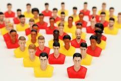 Teamwork people diversity Stock Photo