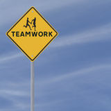 Teamwork Sign Royalty Free Stock Image