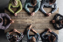 Teamwork-Sitzungskonzept Stockfotos