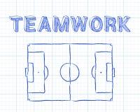 Teamwork Soccer Pitch Graph Paper