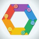 Teamwork social infographic, diagram, presentation Stock Photos