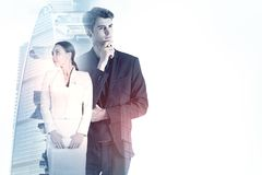 Teamwork and success concept Royalty Free Stock Photography