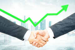 Teamwork and success concept Royalty Free Stock Image