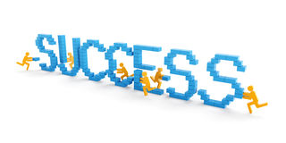 Teamwork success concept Royalty Free Stock Image