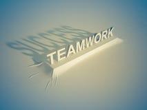 Teamwork = Success Stock Image