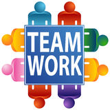Teamwork Table Stock Photography
