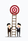 Teamwork Target Concept Royalty Free Stock Images