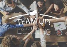 Teamwork Team Building Spirit Togetherness Concept Royalty Free Stock Images