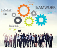 Teamwork Team Collaboration Connection Togetherness Unity Concep Stock Images