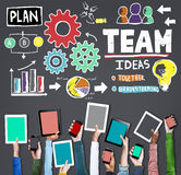 Teamwork Team Collaboration Connection Togetherness Unity Concep Stock Photo