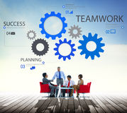 Teamwork Team Collaboration. Connection Togetherness Unity Concept Stock Photo
