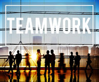 Teamwork Team Collaboration Togetherness Partnership Concept Royalty Free Stock Images