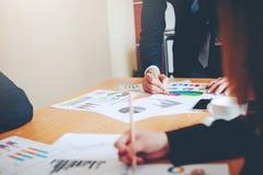 Teamwork-Team Doing Business als Team Corporate-Sitzungen Einheit Stockbild