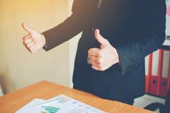 Teamwork-Team Doing Business als Team Corporate-Sitzungen Einheit Stockfotos