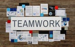 Teamwork Team Partnership Collaboration Concept Royalty Free Stock Photo