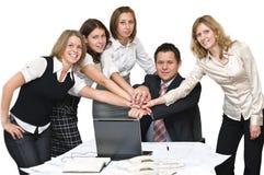 Teamwork and team spirit Royalty Free Stock Photos