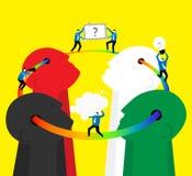 Teamwork : Think together Stock Images