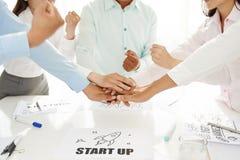 Teamwork und Einheit Stockbilder