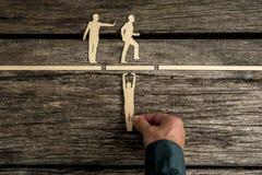 Teamwork- und Erfolgskonzept Stockfotos