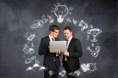 Teamwork- und Erfolgskonzept Lizenzfreie Stockbilder