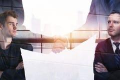 Teamwork- und Erfolgskonzept lizenzfreie stockfotografie
