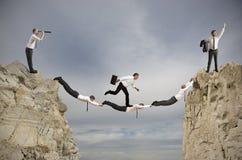 Teamwork- und Erfolgskonzept Lizenzfreies Stockfoto