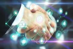 Teamwork- und Innovationskonzept lizenzfreie stockfotos