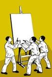 Teamwork und Planung Stockbilder