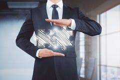 Teamwork- und Teilhaberschaftskonzept Lizenzfreie Stockfotografie