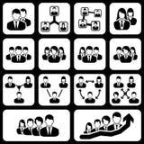 Teamwork user icon Royalty Free Stock Photos
