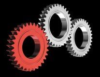 Teamwork utrustar vektor illustrationer
