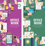 Teamwork vector logo design template. office or Stock Photography