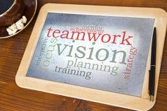 Teamwork vision Royalty Free Stock Photos
