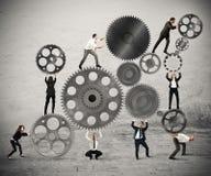 Teamwork von Wirtschaftlern Lizenzfreie Stockfotos