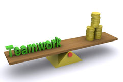 Teamwork - Wealth Stock Photography
