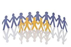 Teamworkbegrepp Arkivbild